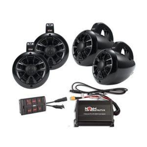 Noam Quad N4 wakebaord tower speakers.