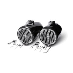 "Rockford Fosgate Punch 6"" black wake speakers."