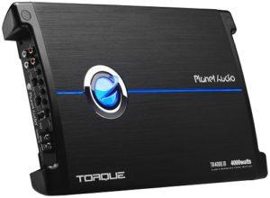 Black Planet Audio monoblock amplifier.