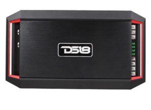 Black DS18 monoblock amplifier.