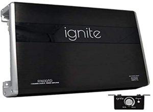 Black Ignite Audio monoblock amp.